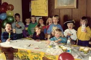 Turtles theme 7th bday in Schweindorf Tom0001